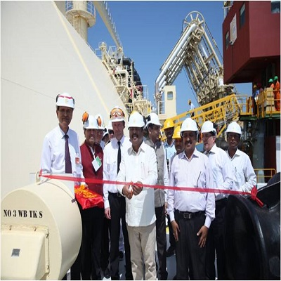 Airads organised MoPNG's event at Dabhol for receiving ceremony of India's first LNG Cargo from the USA under a long-term contract of GAIL (India) Limited